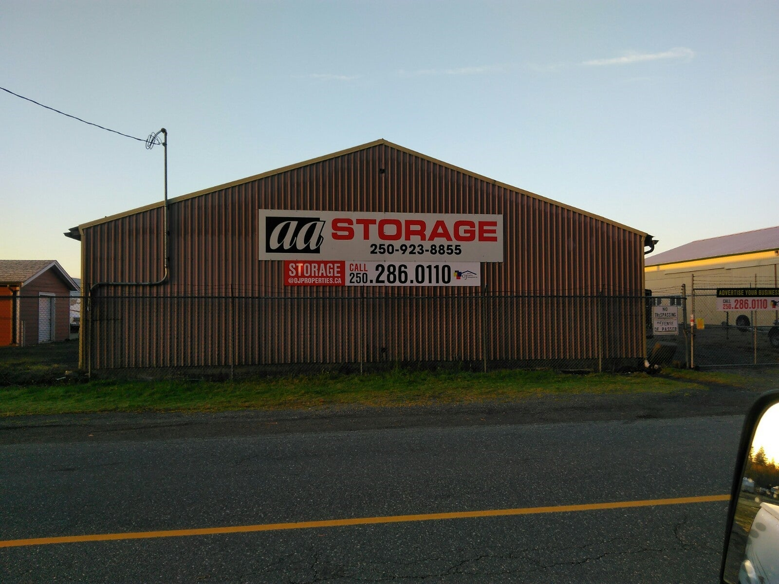 112 AA Storage - 2139 Airside Dr. Campbell River, BC - CR Willow Point COMM for sale(2433622) #1
